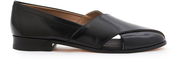 PLAN C Leather loafers