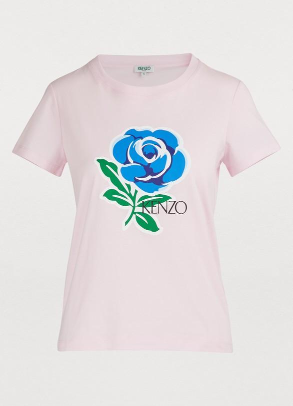 abdf7e5bc Women's Flower print T-shirt | Kenzo | 24S | 24S