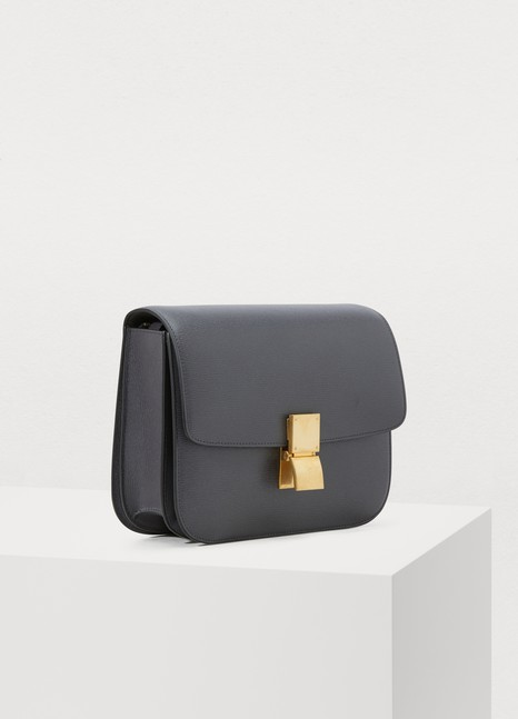 CélineMedium Classic Bag in Calfskin Liégé
