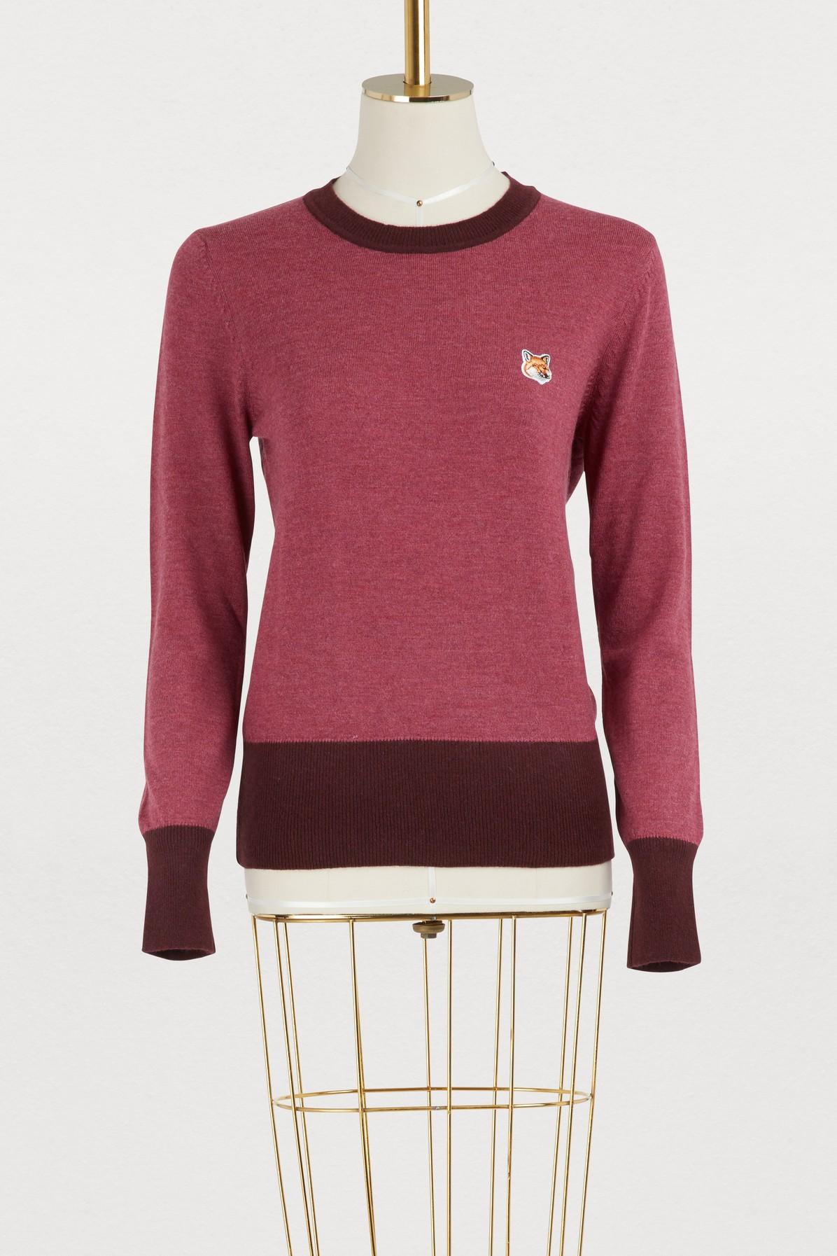 MAISON KITSUNE | Merino sweater | Goxip