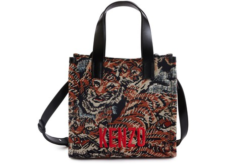 Kenzo Tiger Shopping Bag In Multi