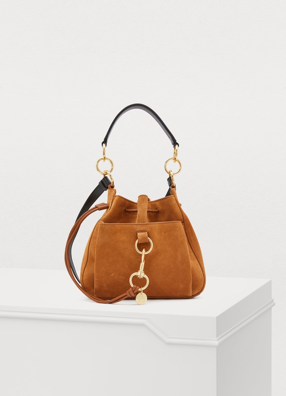 SEE BY CHLOE Leather bucket bag