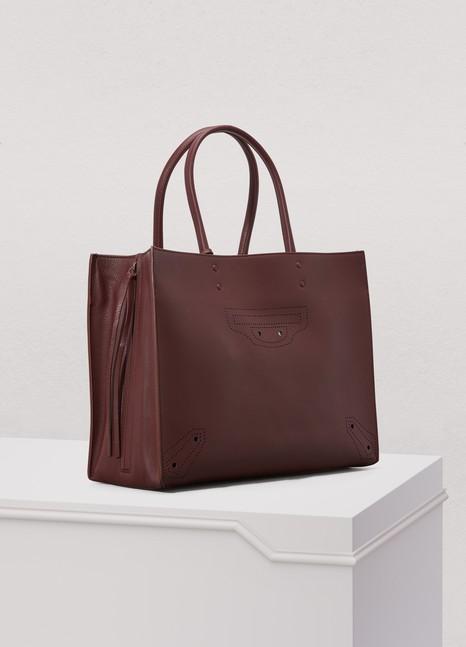 BalenciagaPapier Blackout medium bag