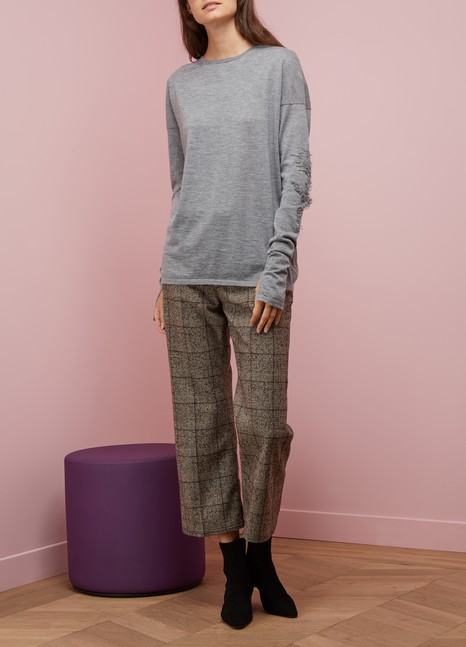 Marc JacobsPantalon en laine et coton
