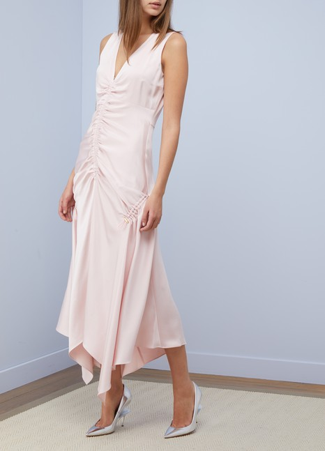 PETER PILOTTORuched satin dress