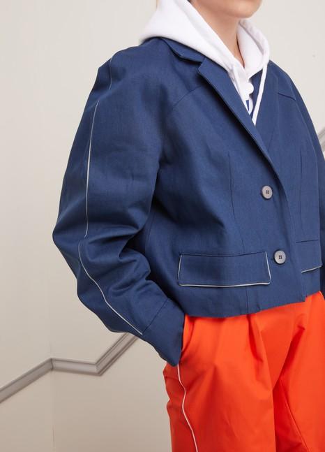 MIKO MIKODenim pea jacket