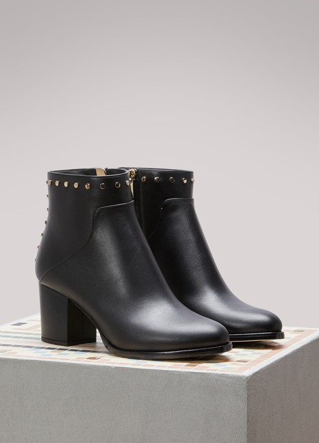 Jimmy Choo Melvin 65 leather ankle boots