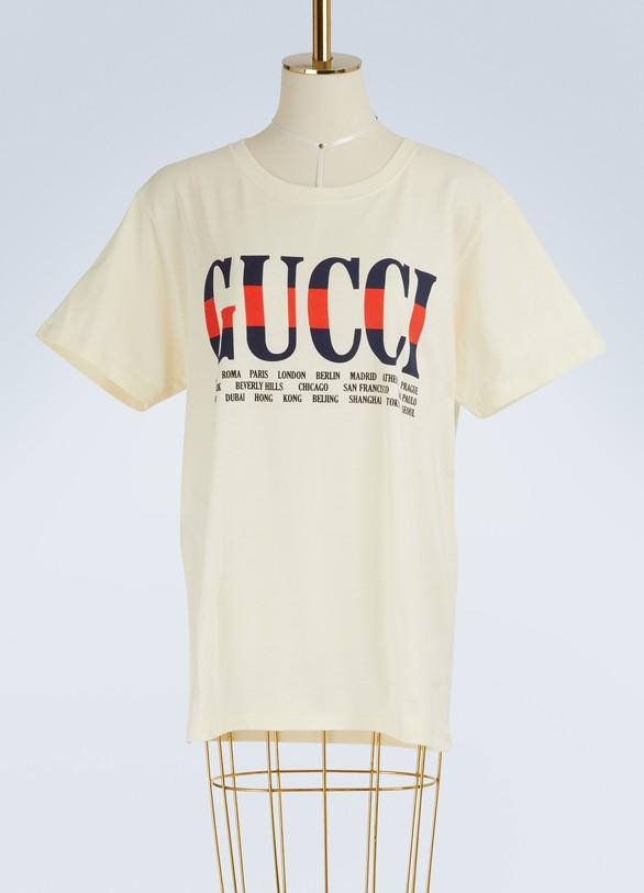 GucciNegozio printed T-shirt