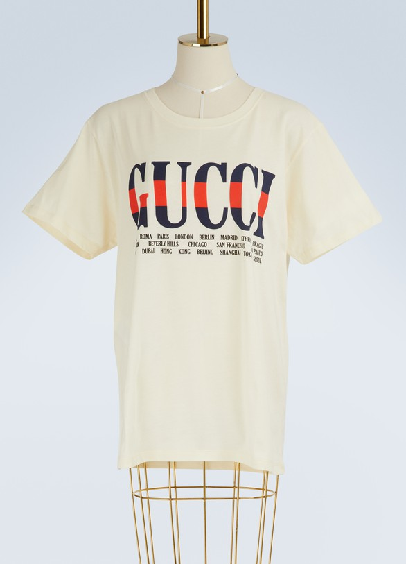 GucciT-shirt imprimé Negozio