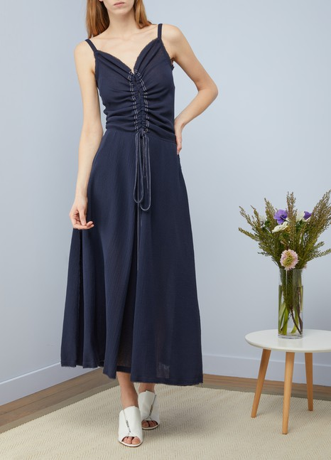 Nina RicciLong cotton dress