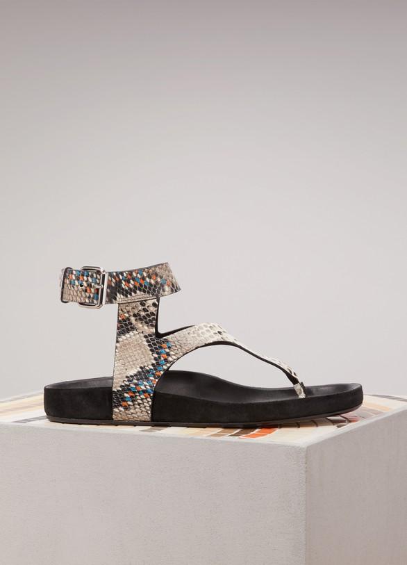 Isabel MarantElwina leather sandals