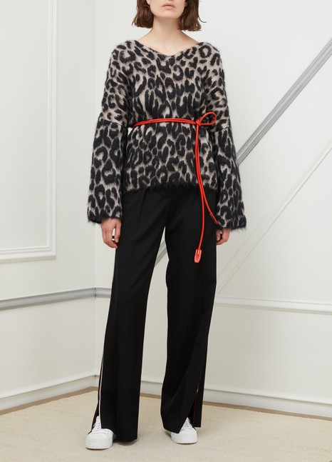 Acne Studios Leather rope belt