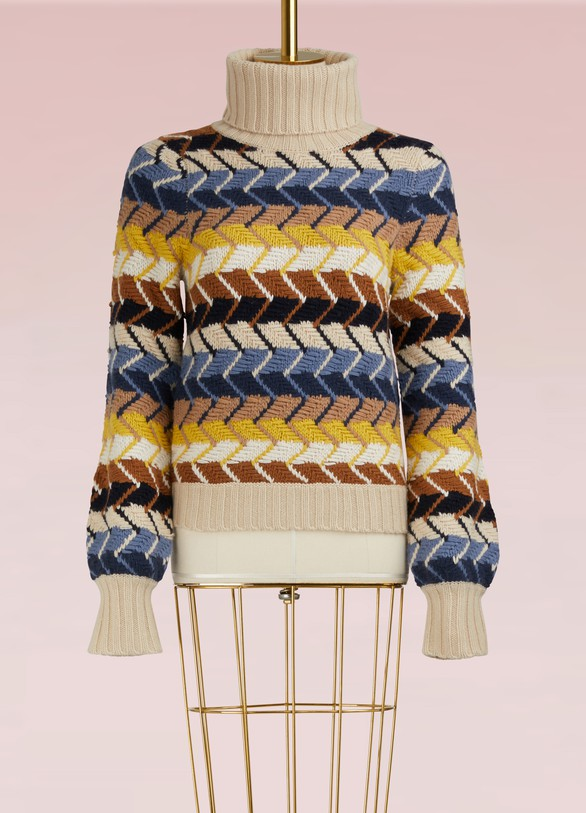 ChloéWool And Cashmere Sweater