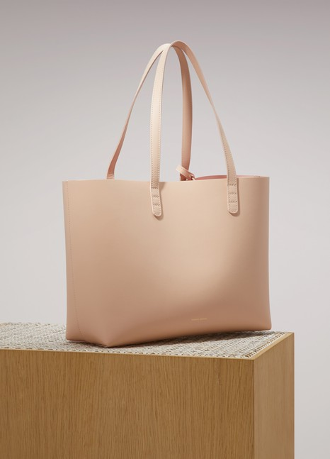 MANSUR GAVRIELSmall leather tote