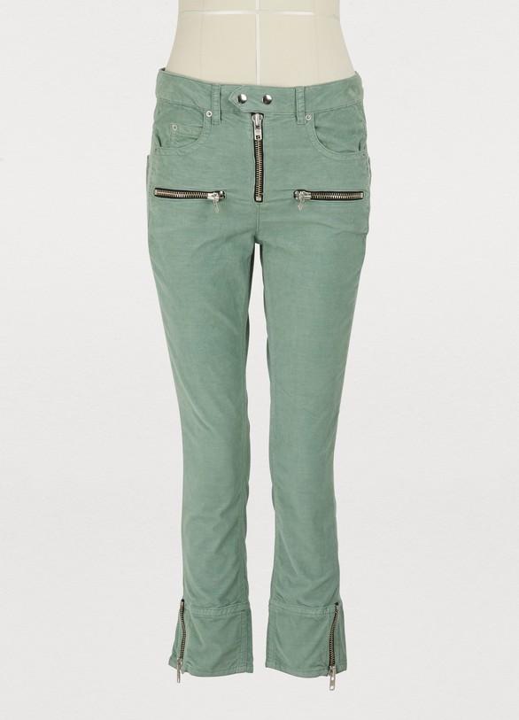 Isabel Marant EtoileAlone cotton jeans