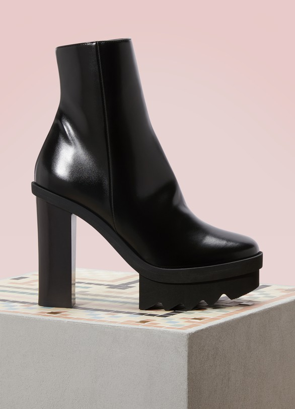 Stella McCartney Bottines à plateforme