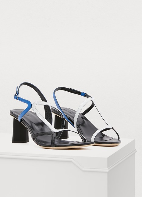 BY FAR Brigette high-heeled sandals