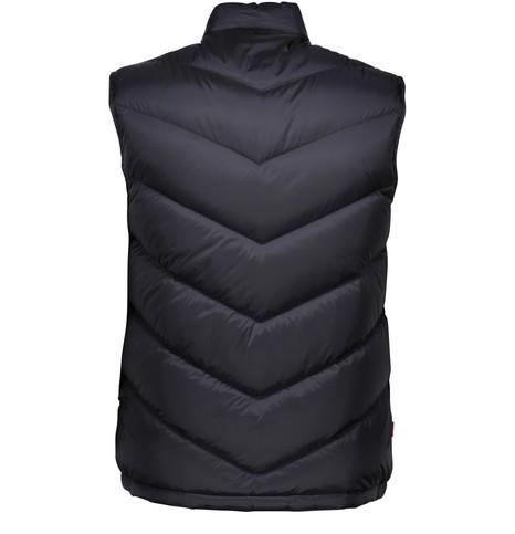 WOOLRICHLogo sleeveless down jacket