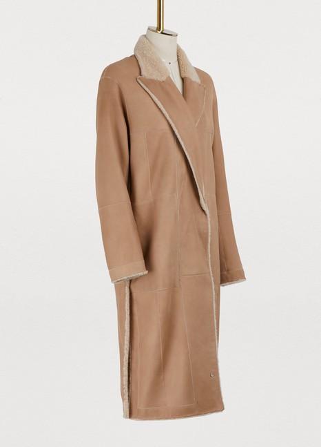 BOONTHESHOPShearling long coat