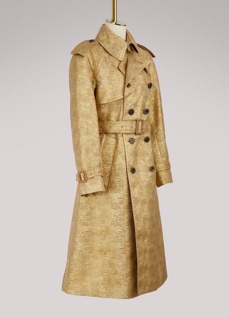 Maison MargielaJacquard trench coat