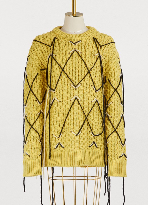 Calvin Klein 205W39NYC Oversized wool sweater