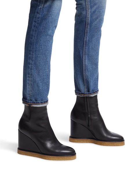 CELINEManon Wedge ankle boots