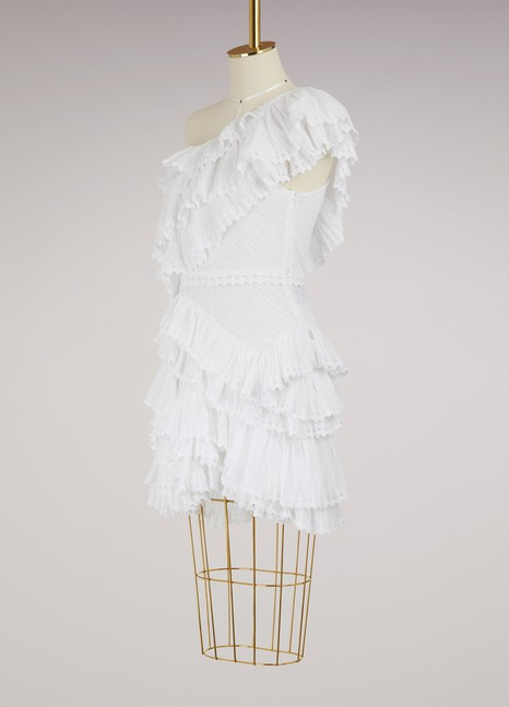 Isabel Marant Zeller ruffled dress
