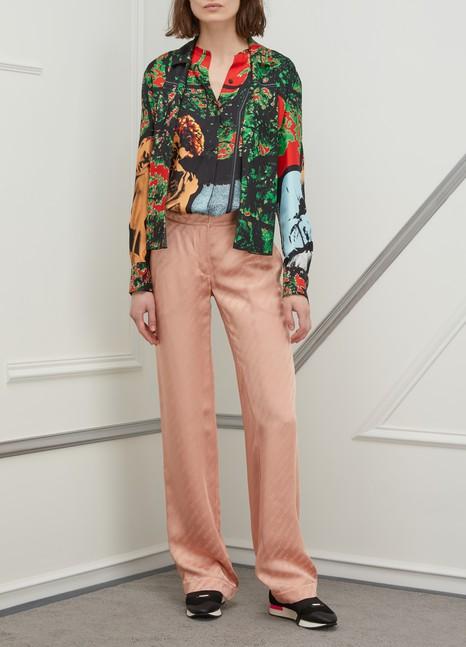 OFF-WHITELogo pajama pants