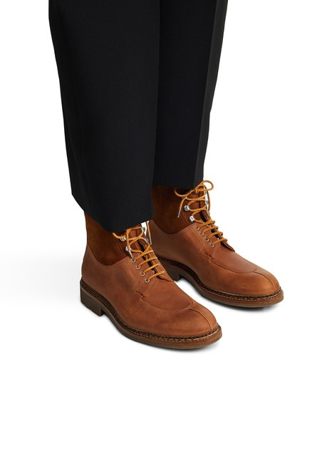 HESCHUNGBottines Ginkgo Country Hydrovelours