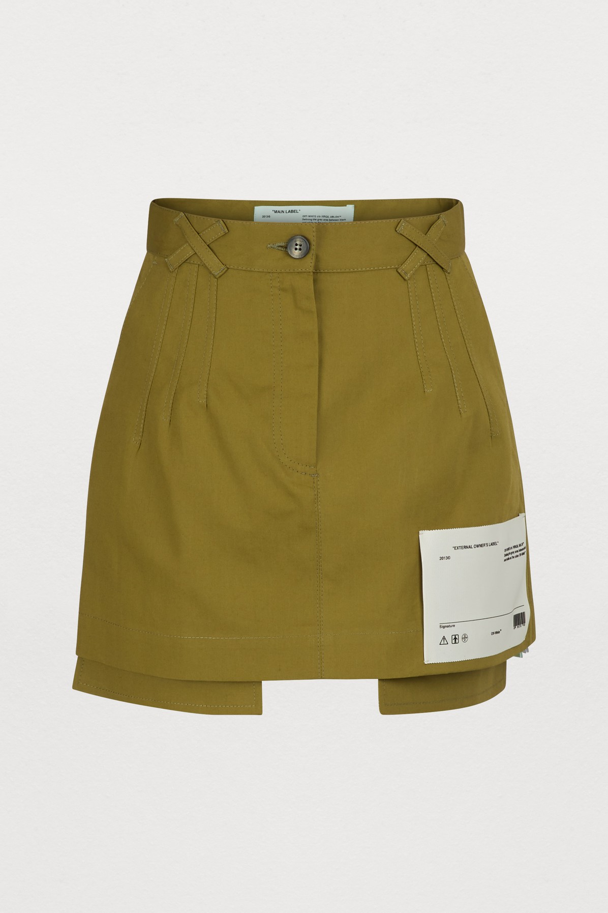 d84f1766d Shop Off-White Skirts on sale at the Marie Claire Edit