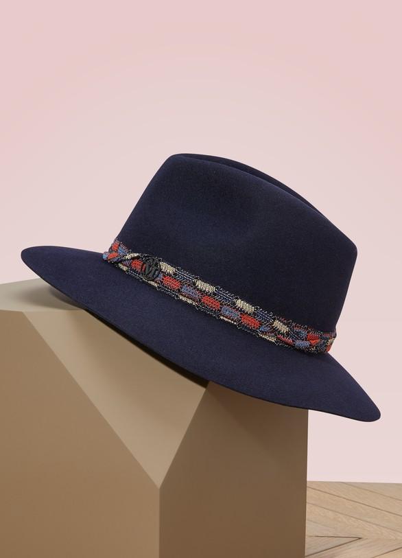 Maison MichelRico fedora hat