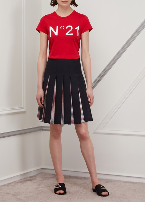 THOM BROWNEWool pleated skirt