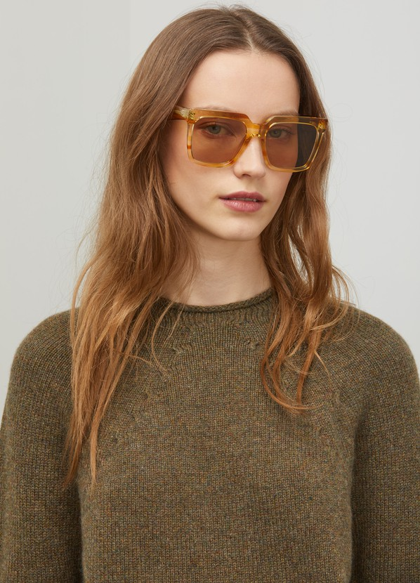 3f4282b3fe04 ... Celine Oversized sunglasses in acetate ...
