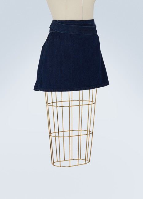 JW Anderson Denim mini skirt