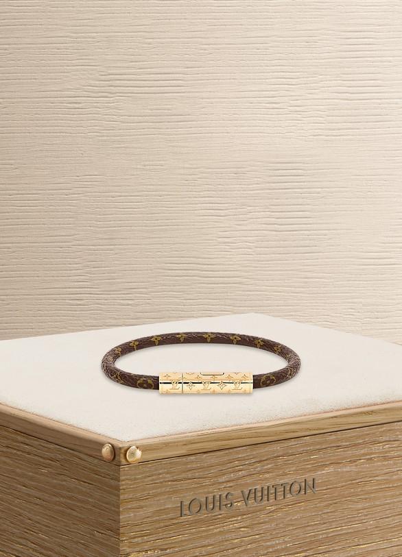 c846f85a4bcaa Louis Vuitton LV Confidential bracelet ...