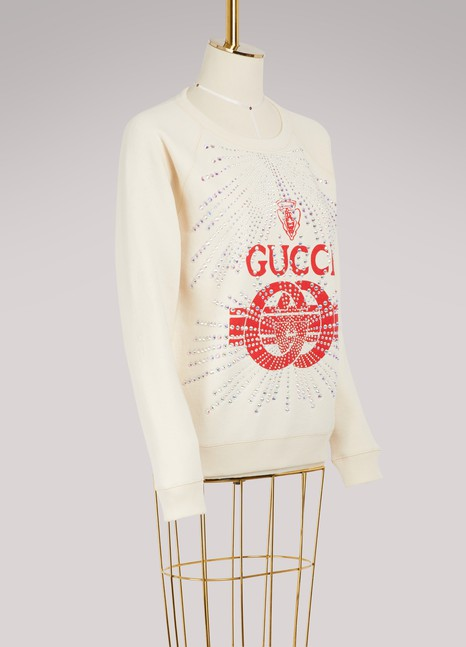 GUCCISweatshirt Gucci à strass