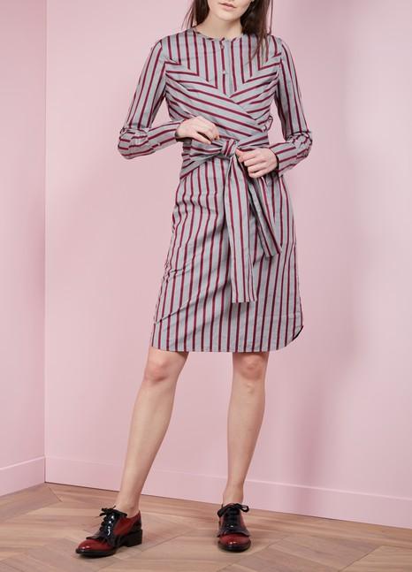 Victoria Victoria BeckhamTied shirt dress