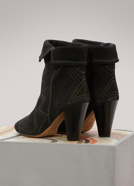 Bottines Darilay en cuirIsabel Marant
