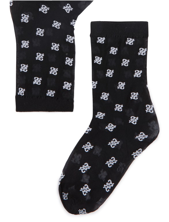 FENDIFendi Logo socks