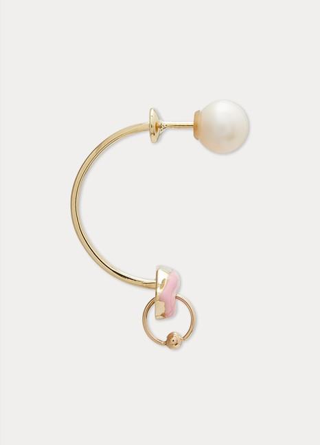 DELFINA DELETTREZLips Piercing single earring