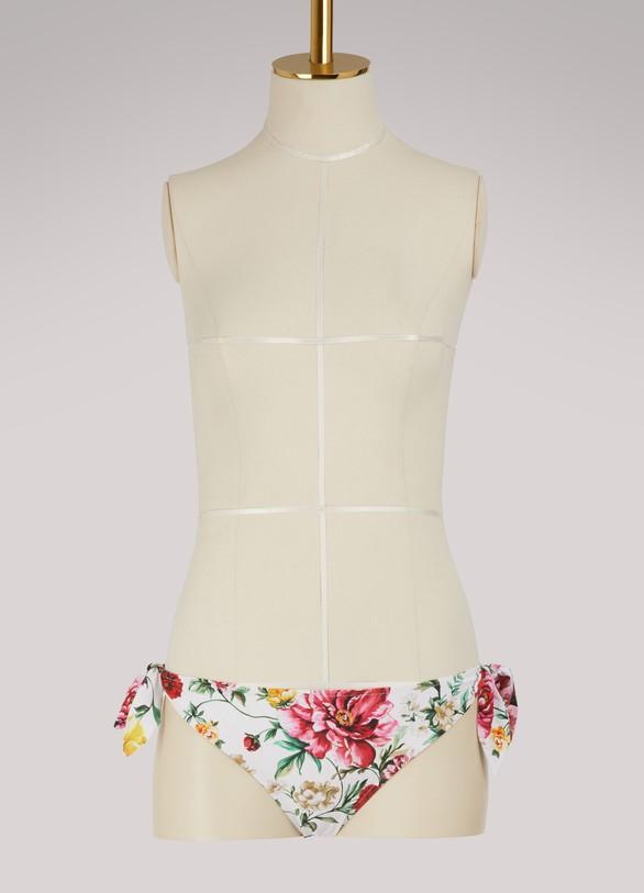 Dolce & GabbanaFlowers bikini bottom