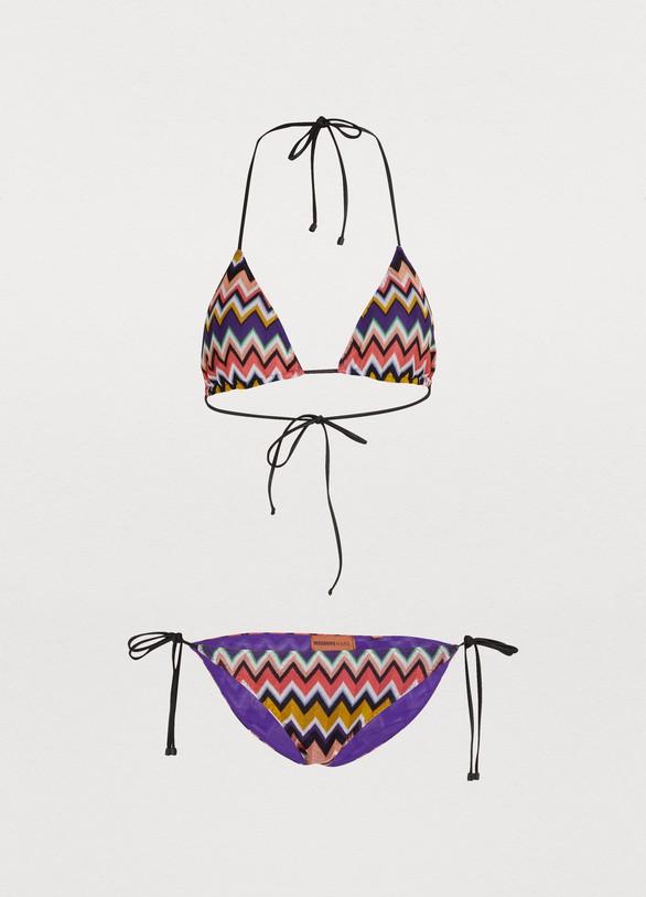 MISSONIZig Zag triangle bikini