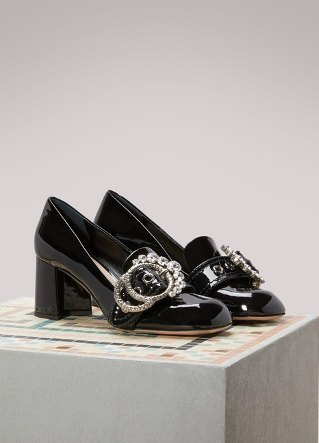 30e8989de22e Miu Miu Patent Leather Pumps