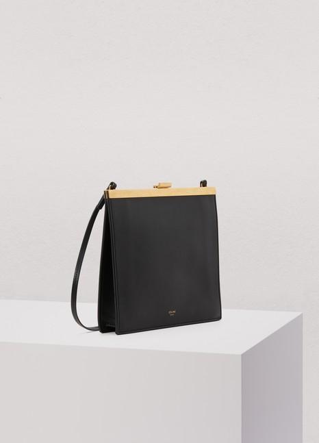 CélineSac Clasp Mini Modèle en veau lisse