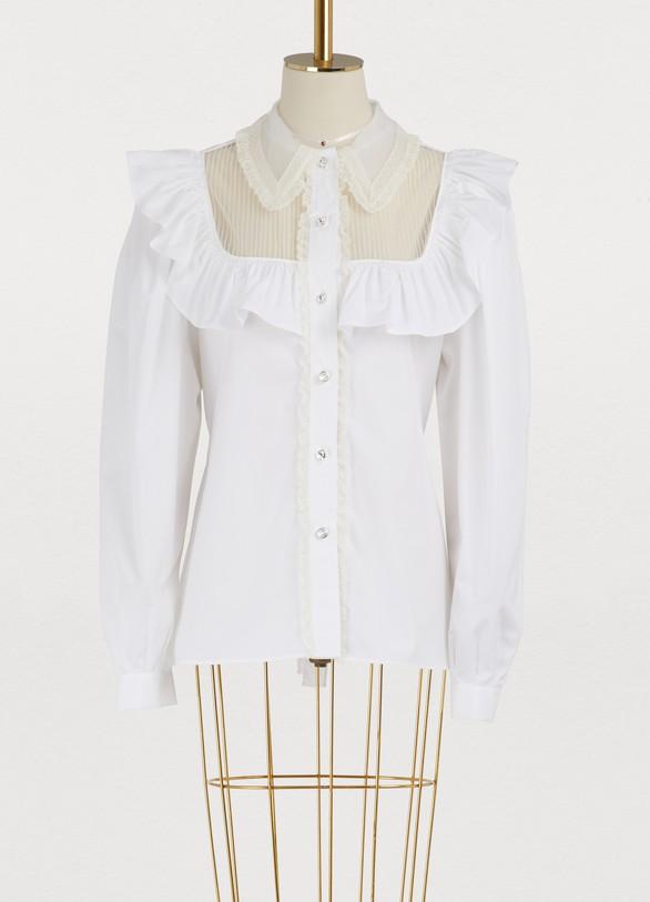 Miu MiuPoplin shirt