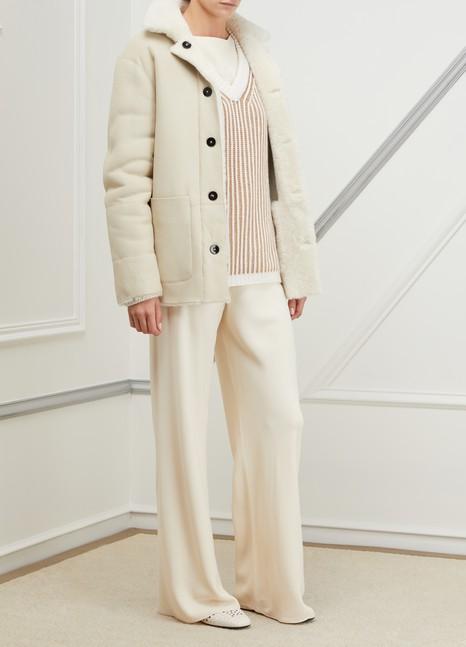 Jil SanderForeward reversible shearling coat
