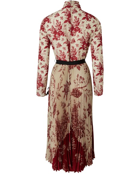 RED VALENTINO Silk Toile de Jouy dress