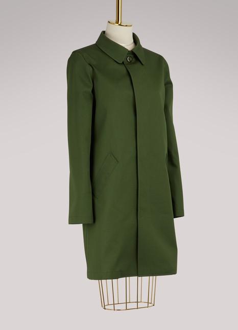 A.P.C.Manteau de pluie Belleville en coton