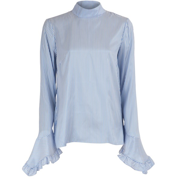 ERDEMLandsey silk blouse