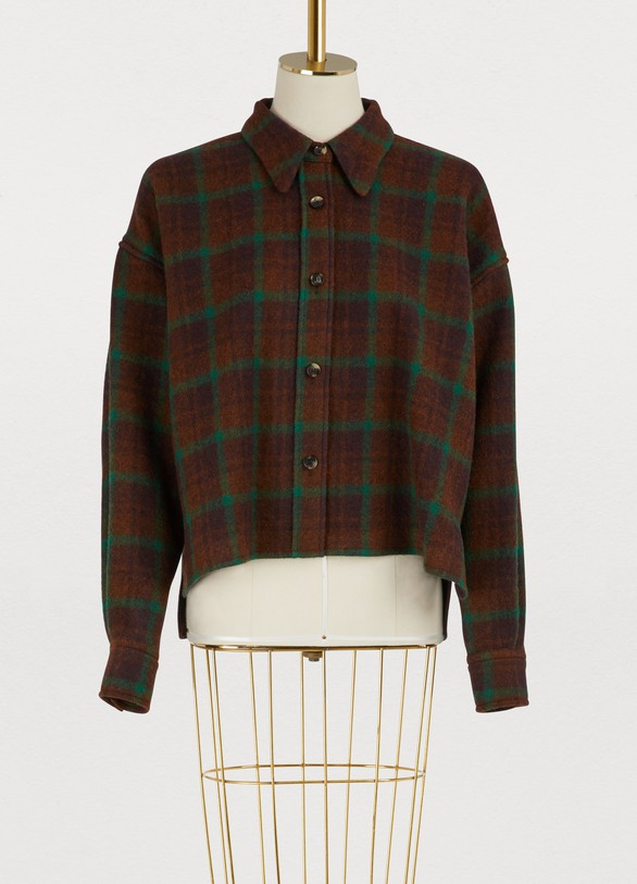 Isabel Marant Virgin wool Hanao shirt